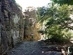 Rock Climbing Photo: Plenty of easy, short climbs for kids and above al...