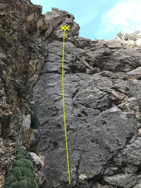Rock Climbing Photo: Marissa Miller 5.9+