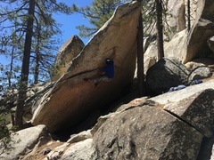 Rock Climbing Photo: Ian on Yard Arm