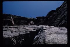 Rock Climbing Photo: 1975...hexes, EBs.