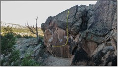Rock Climbing Photo: Wind Chimes beta.