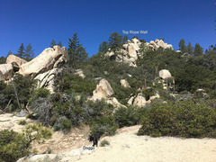 Rock Climbing Photo: You can see the Top Rope Wall in the upper right.
