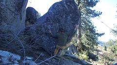 Rock Climbing Photo: Combobulation Nation V6