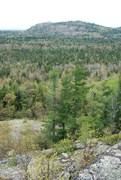 Rock Climbing Photo: Bald mountain from Ghost
