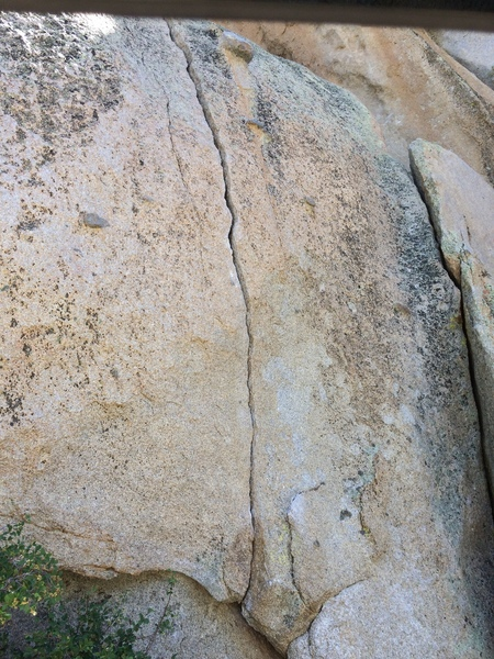 Bouldery start, rattely fingers and tight hands middle, layback after, glory jams to the top