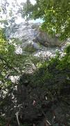 Rock Climbing Photo: Looking up @ washboard