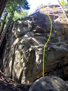 Rock Climbing Photo: Freeloader Topo