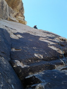 Rock Climbing Photo: Beginning of pitch 3