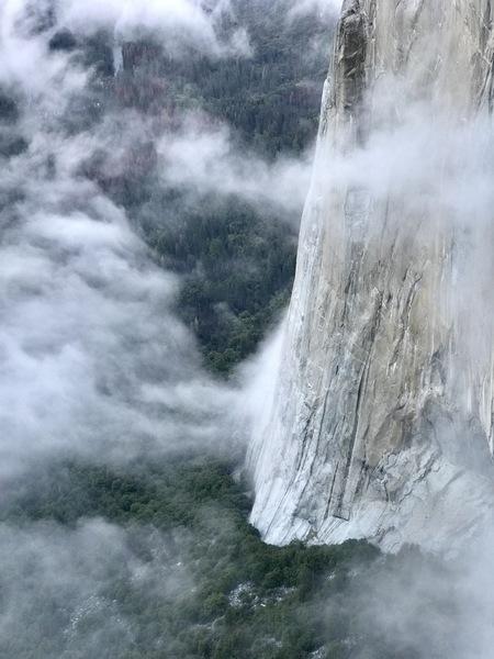 Rock Climbing Photo: Nose from Zodiac