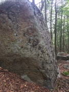 Rock Climbing Photo: Kind of funky from the sit, but the foot ramps mak...
