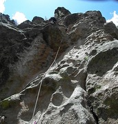Rock Climbing Photo: Mad Dogs and Englishmen