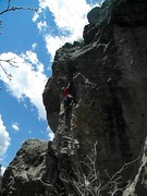 Rock Climbing Photo: Hueco Pareidolia