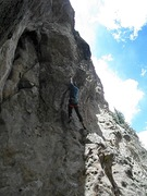 Rock Climbing Photo: Pumping Huecos