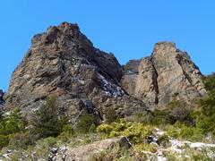 Rock Climbing Photo: Rock walls of Ventana Sur