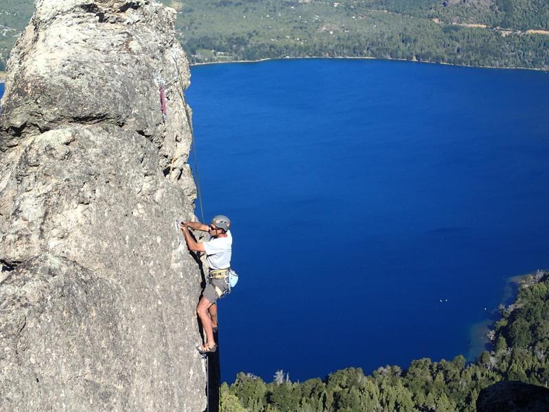 Rock Climbing Photo: Climbing Shalom 5.10c