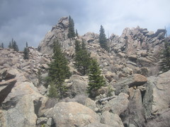 Main crag, looking right.