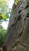 Rock Climbing Photo: easy trad climbing.