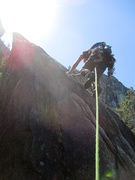 Rock Climbing Photo: The Acrophobes (Pitch 9) of Angel's Crest