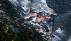 Rock Climbing Photo: Crux.  Photo Ryan Hoover