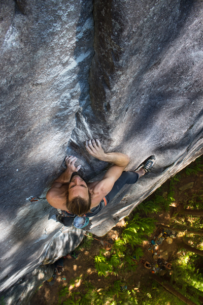 Just good rock climbing.