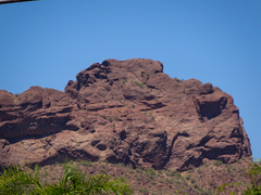 Rock Climbing Photo: South face of the top of the Camel`s head, Photo t...