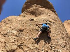 Rock Climbing Photo: Just past the start of Slotterhouse.