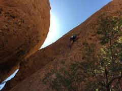 Rock Climbing Photo: The egg providing just enough shade while on Sophi...