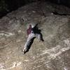 "Fun night-time session, on the ""Barn Door Boulder""!!!"