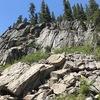 Crocodile Rock and Overhangtang Boulders
