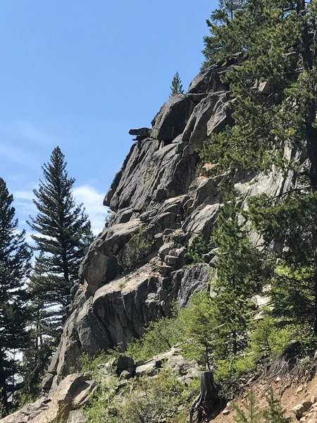 Rock Climbing Photo: The namesake feature.