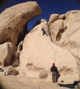 that's me climbing