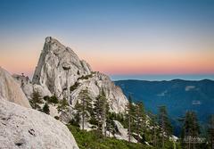 Rock Climbing Photo: Castle Dome at Sunrise
