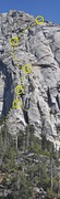 Rock Climbing Photo: Do to the large amount of people on this route we ...