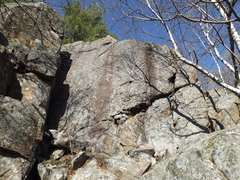 """Rock Climbing Photo: The """"Bonnie's Wall"""" area, now with top a..."""