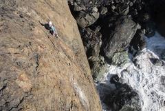 Rock Climbing Photo: Desire climbing Captain Longbeard
