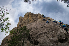 Rock Climbing Photo: Compilation of me working the first 3/4 of Shark B...