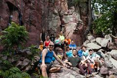 Rock Climbing Photo: The whole crew