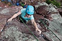 Rock Climbing Photo: Lindsay on Orgasm