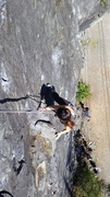 Rock Climbing Photo: First time climbing out doors! oh yayysss
