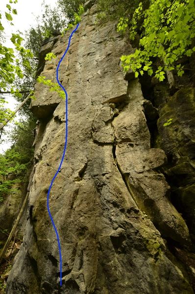 Rock Climbing Photo: We Built This City.