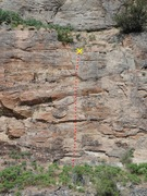 Rock Climbing Photo: The Torture Never Stops topo