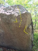 Rock Climbing Photo: Pretty sure this is the route - there are a couple...