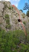 Rock Climbing Photo: Cave Woman 5.4