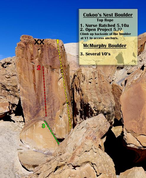 Rock Climbing Photo: Top Rope Boulder