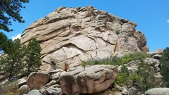 Rock Climbing Photo: South Rock at Tres Piedras