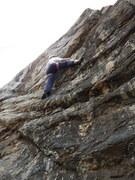 Rock Climbing Photo: Kimberly on Great Blob.