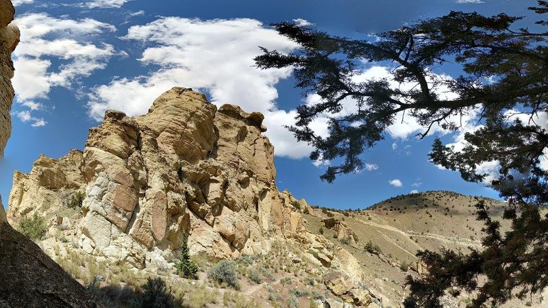 Rock Climbing Photo: Flat Top
