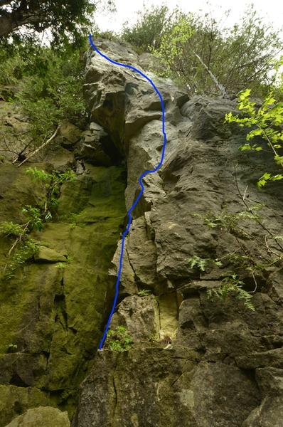 Rock Climbing Photo: Zen Garden