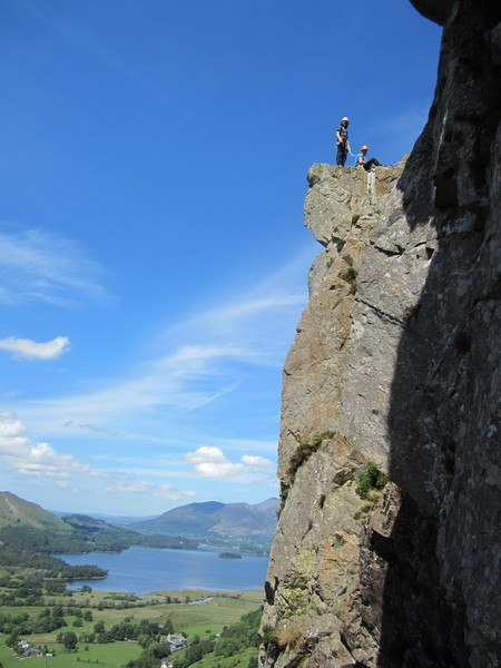 Rock Climbing Photo: Black Crag