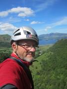 Rock Climbing Photo: On Black Crag